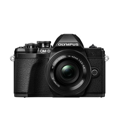 Olympus  OM-D E-M10 Mark III Kit 14-42mm EZ Pancake Systemkamera schwarz | 4545350051396