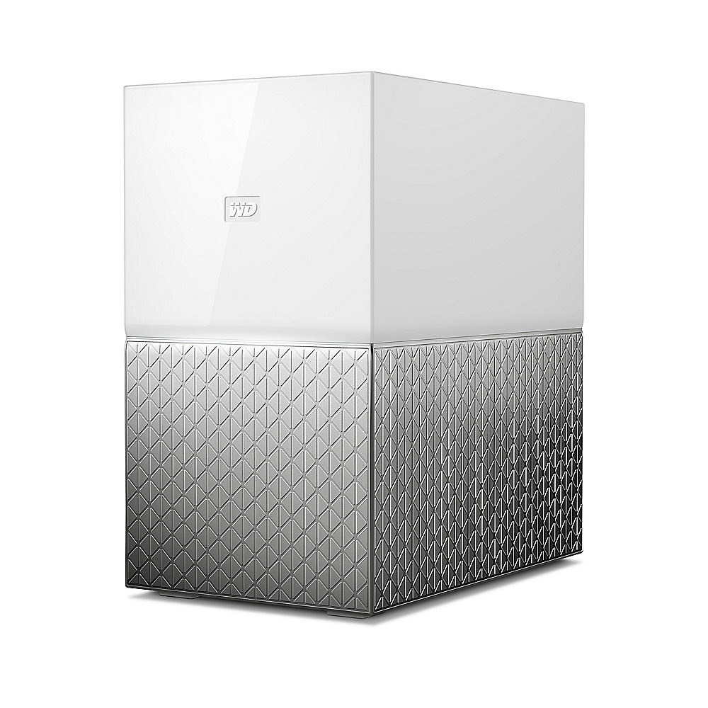 WD My Cloud Home Duo NAS System 2-Bay 8TB inkl. 2x 4TB HDD