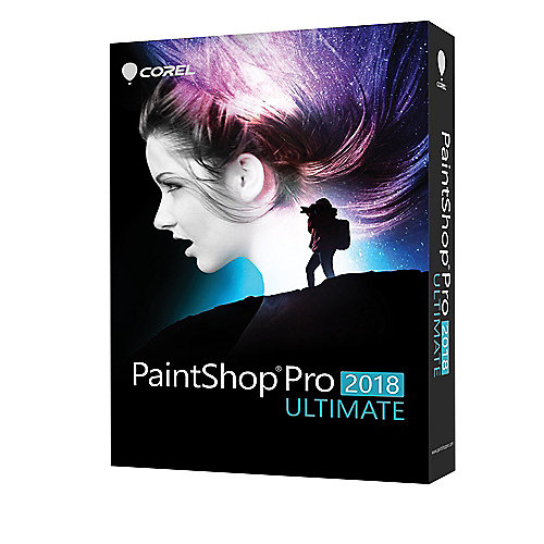 COREL PaintShop Pro 2018 ULTIMATE (DE) MiniBox