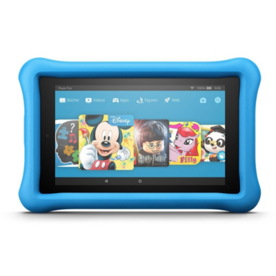 Amazon  Fire 7 Kids Edition Tablet WiFi 16 GB Kid-Proof Case blau | 0841667121758