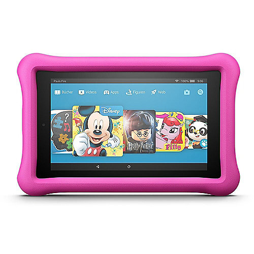 Amazon Fire 7 Kids Editon Tablet WiFi 16 GB Kid-Proof Case pink