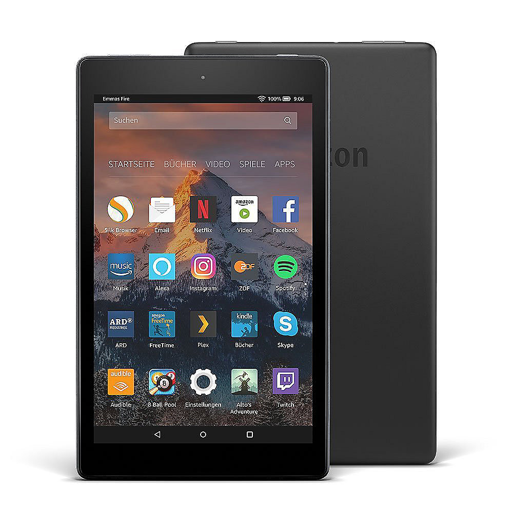 Amazon Fire HD 8 Tablet WiFi 16 GB mit Spezialangeboten