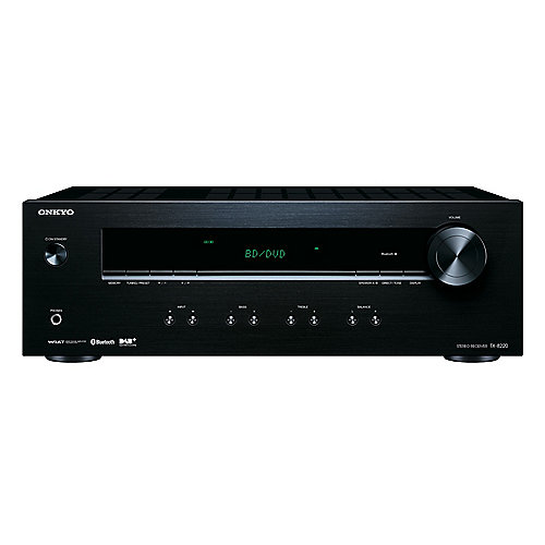 onkyo tx 8220 b schwarz stereoreceiver 2x100w dab bt. Black Bedroom Furniture Sets. Home Design Ideas
