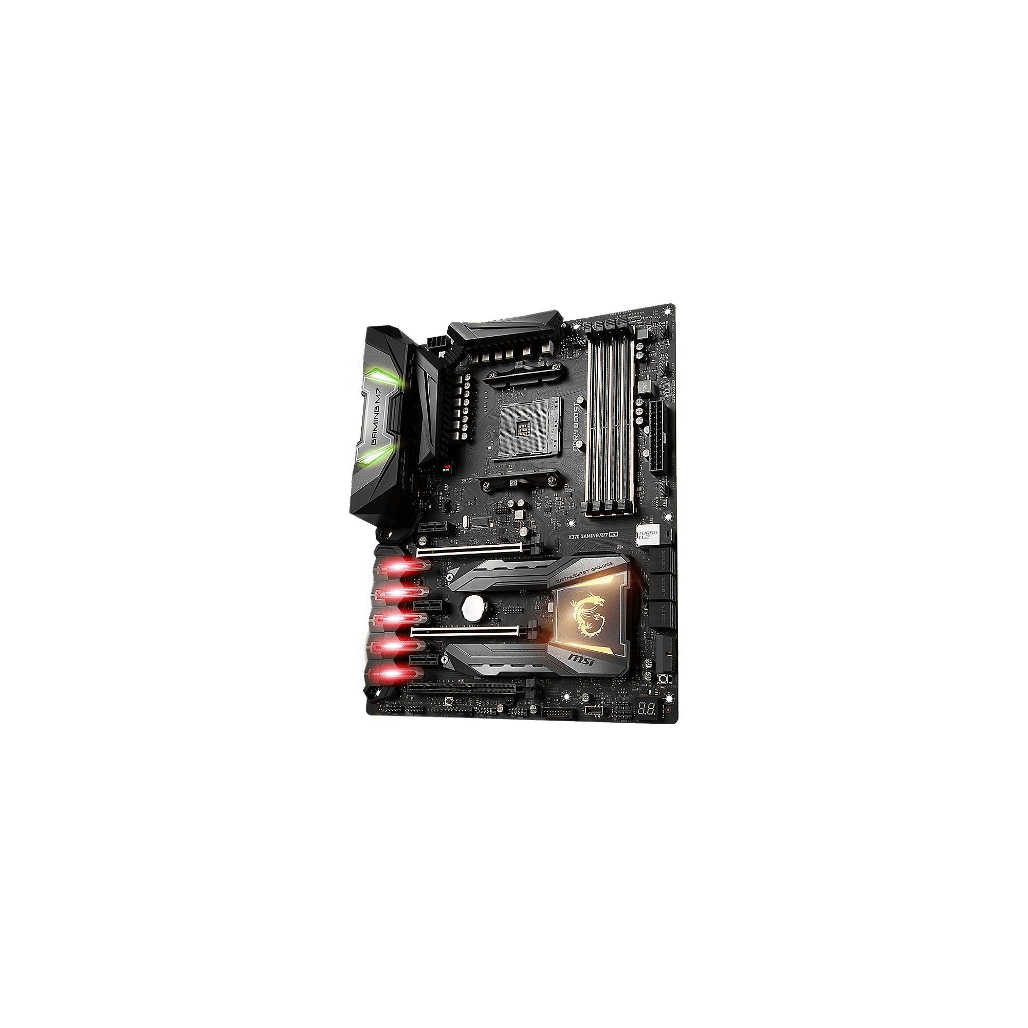MSI MSI X370 Gaming M7 ACK WIFI/BT/M.2/USB3.1 ATX Mainboard Sockel AM4