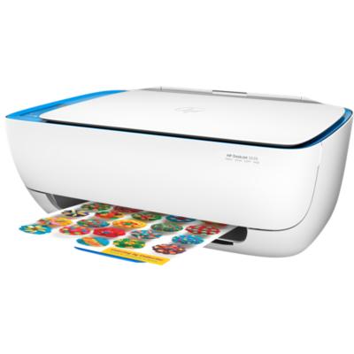 HP  DeskJet 3639 Tintenstrahl-Multifunktionsdrucker Scanner Kopierer WLAN | 0190781818724