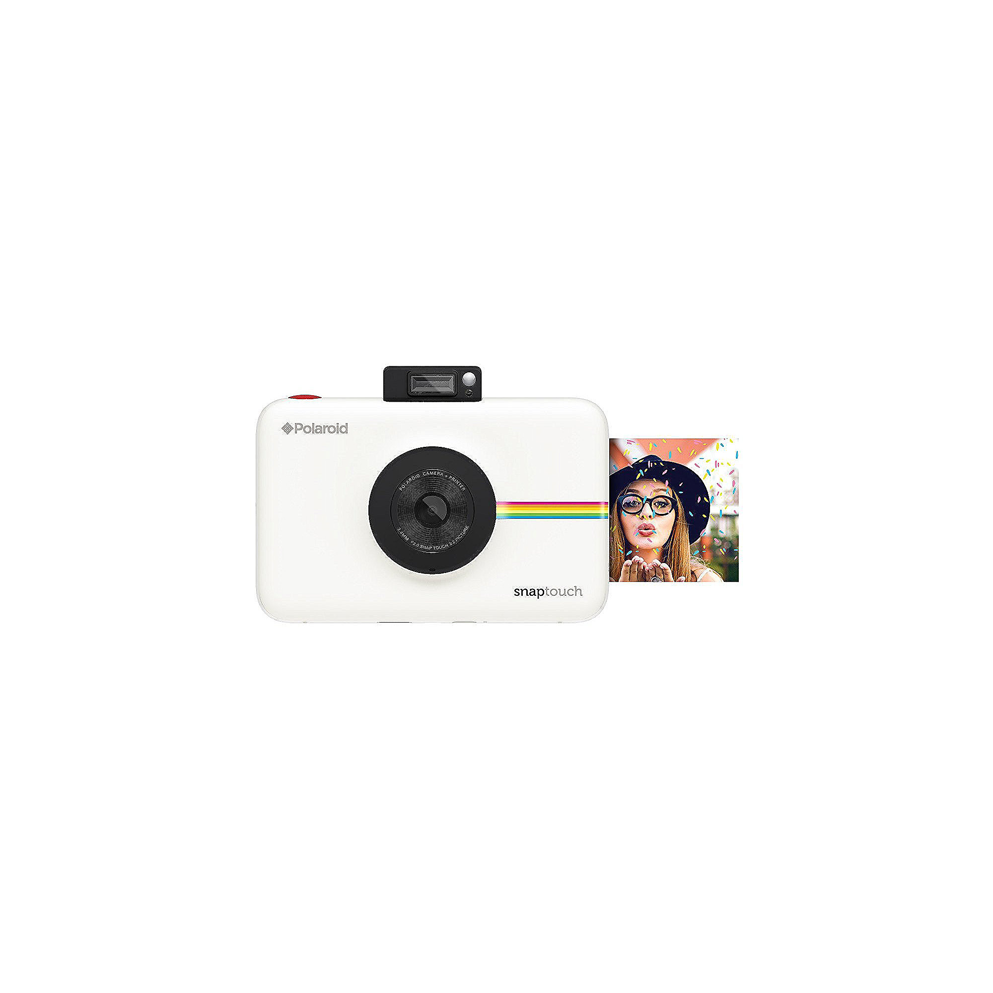 Polaroid SNAP Touch Sofortbildkamera Digitalkamera weiß
