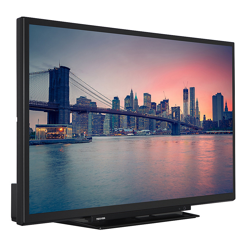"Toshiba 24D1763DA 61cm 24"" DVB-T2/-C/-S, HD ready, DVD-Player, schwarz"