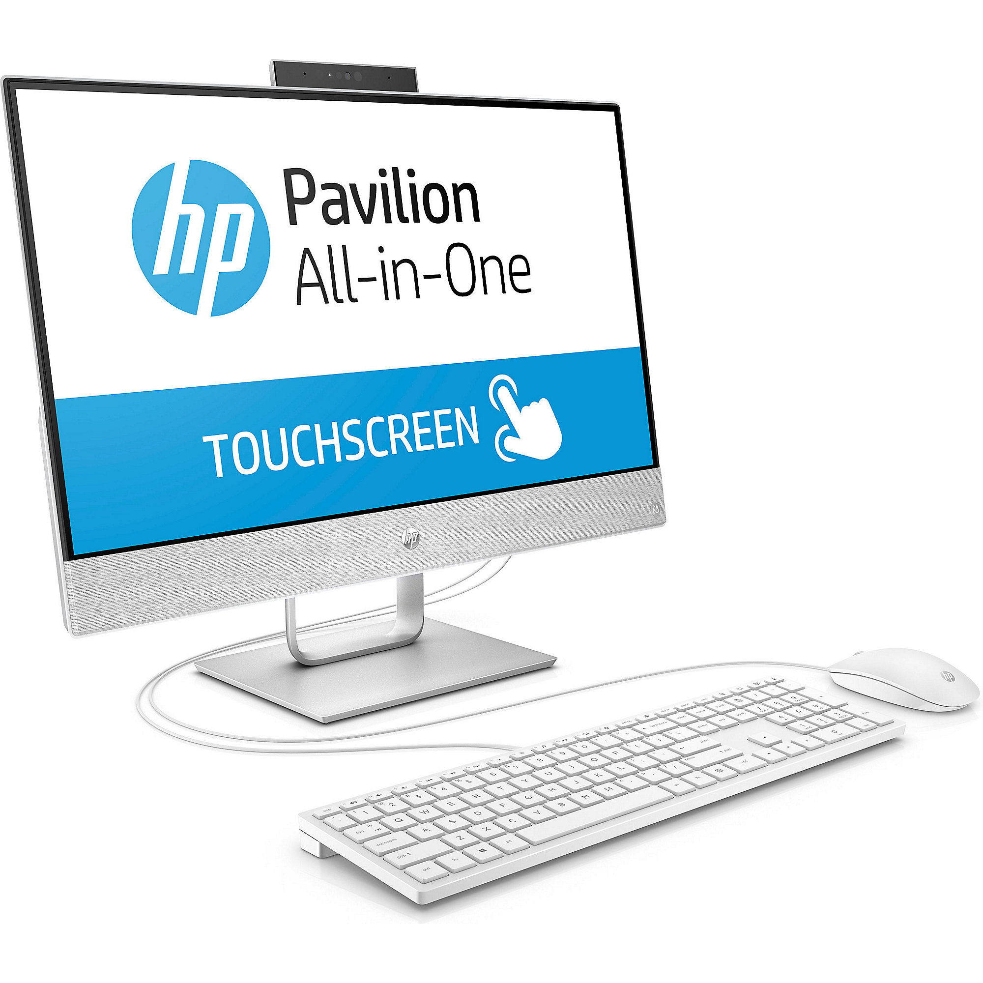 HP Pavilion 24-x050ng AiO i5-7400T FHD Touch 16GB/1TB 128GB SSD W10