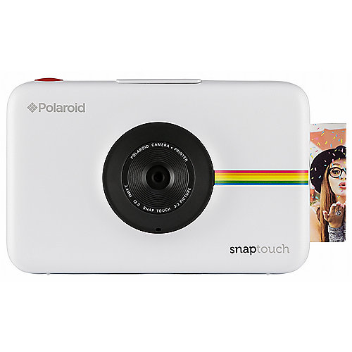 Polaroid SNAP Touch Sofortbildkamera Digitalkamera weiß | 0840102160857
