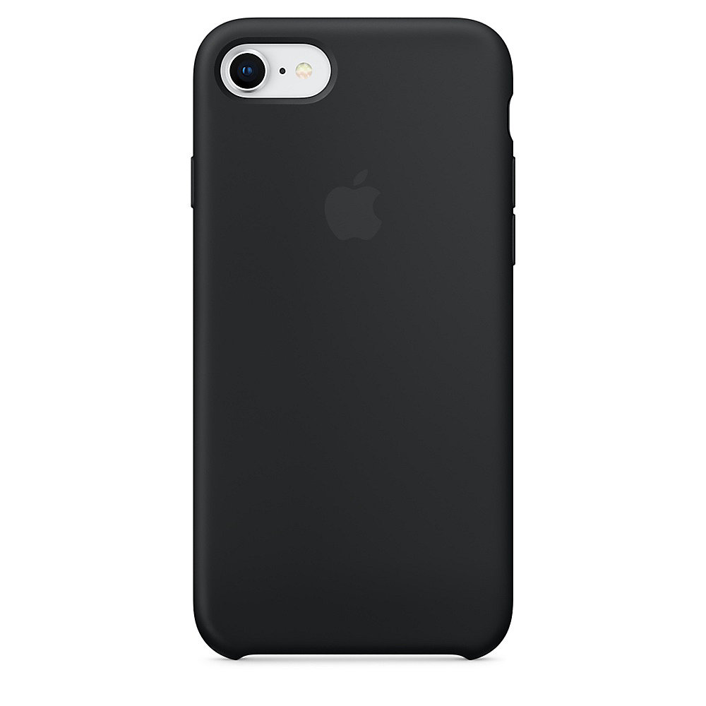 Apple Original iPhone 8 Silikon Case-Schwarz