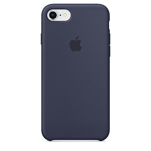apple original iphone 8 7 silikon case mitternachtsblau. Black Bedroom Furniture Sets. Home Design Ideas