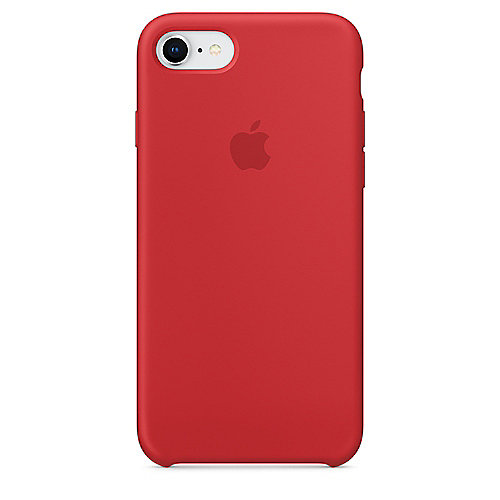 Apple Original iPhone 8 Silikon Case-(PRODUCT)RED