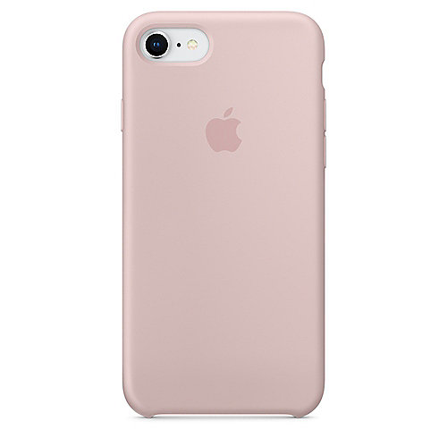 Apple Original iPhone 8 Silikon Case-Sandrosa