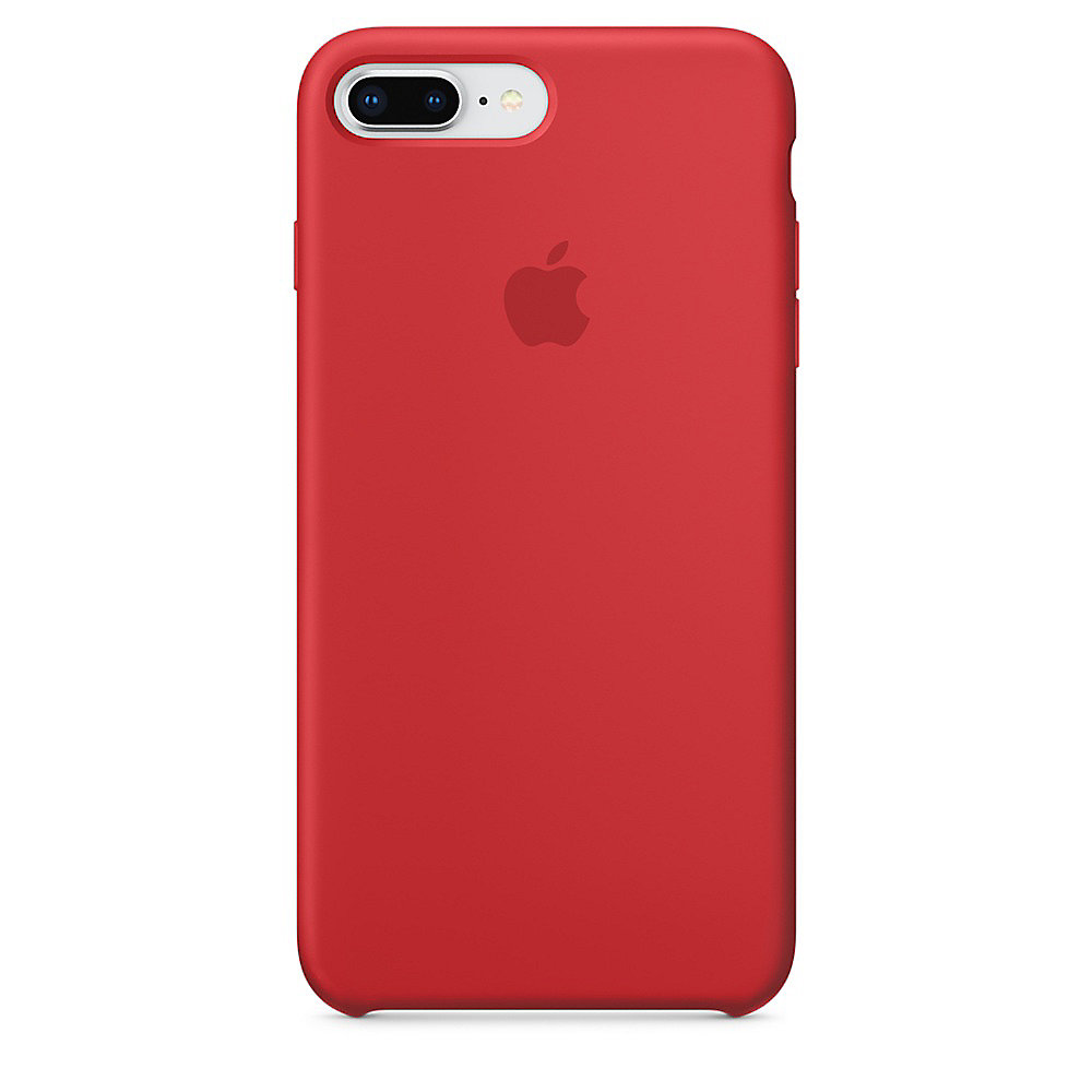 Apple Original iPhone 8 Plus Silikon Case-(PRODUCT)RED