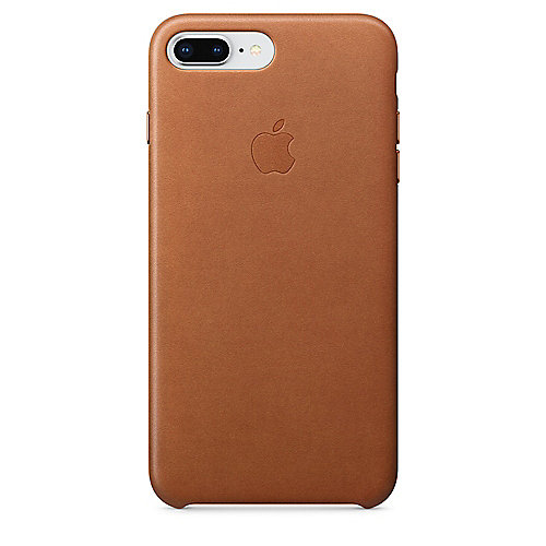apple original iphone 8 7 plus leder case sattelbraun. Black Bedroom Furniture Sets. Home Design Ideas