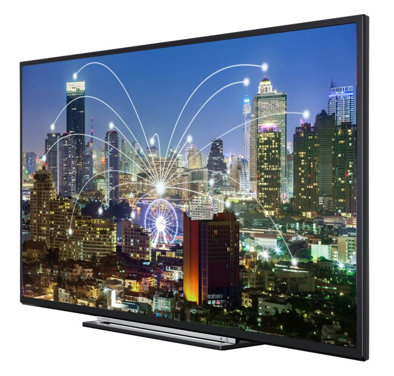 "Toshiba 55L3763DA 140cm 55"" DVB-T2/-C/-S, Full-HD, Smart-TV, schwarz"