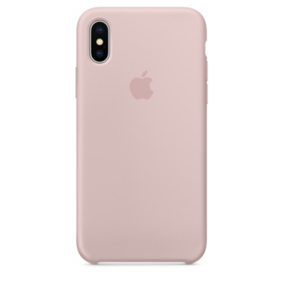 Apple  Original iPhone X Silikon Case-Sandrosa | 0190198522733