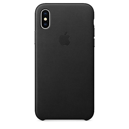 Apple Original iPhone X Leder Case-Schwarz