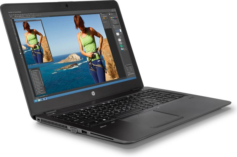 "HP zBook Studio15 G3 - T7W01ET i7-6700HQ 8GB/256GB SSD 15""FHD M1000M Win7/10Pro"