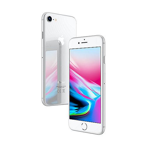 Apple iPhone 8 64 GB Silber MQ6H2ZD A