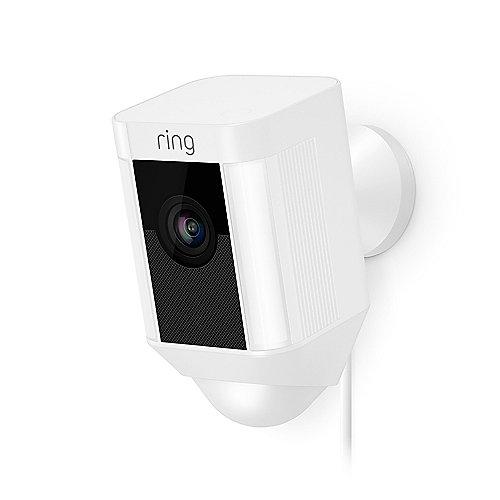 RING Spotlight Cam - verkabelt - weiß ++ Cyberport