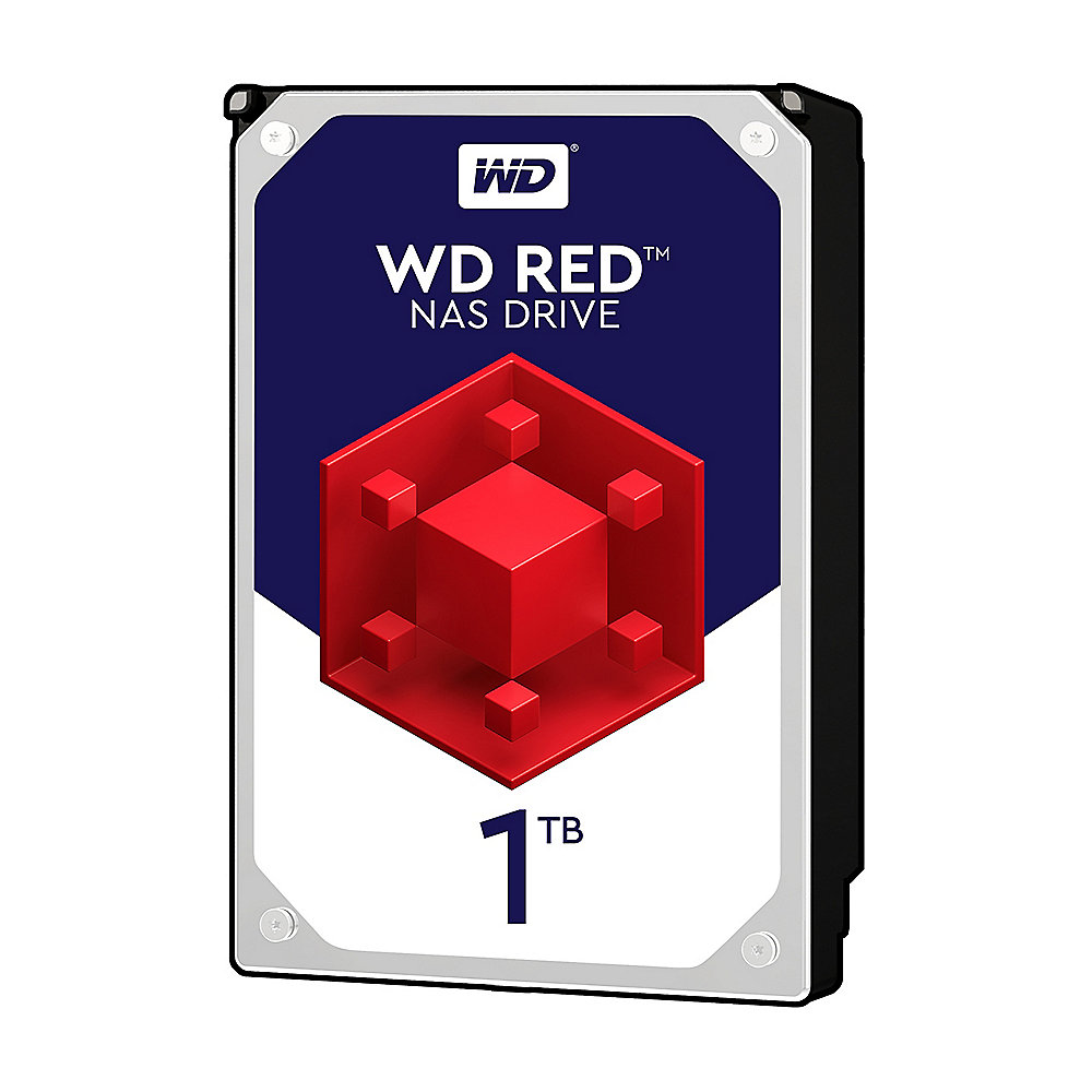 WD Red WD10EFRX - 1TB 5400rpm 64MB 3.5zoll SATA600