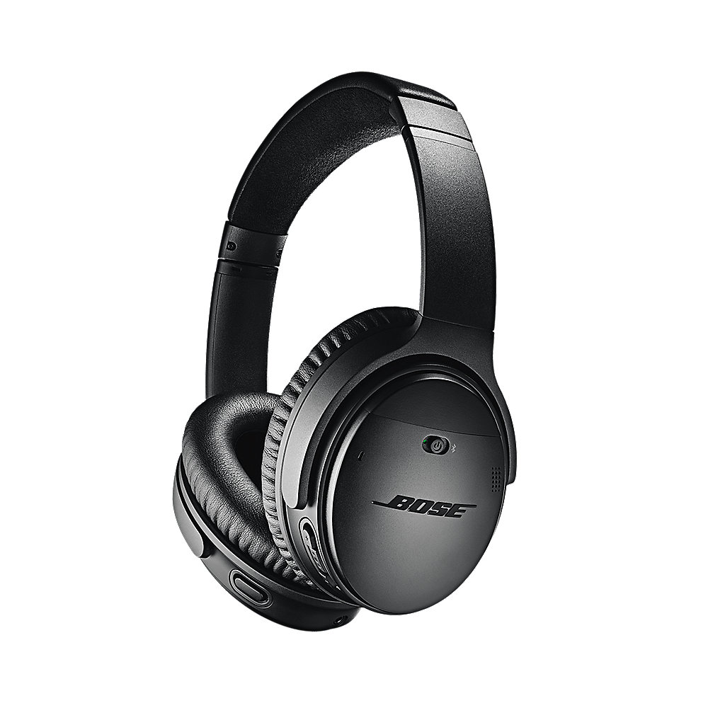 bose quietcomfort 35 qc35ii over ear schwarz noise. Black Bedroom Furniture Sets. Home Design Ideas