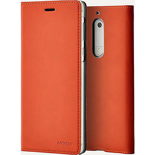 Nokia CP-302 Flip Case brown copper für Nokia 5