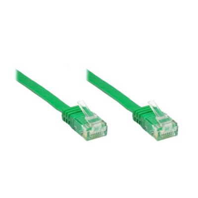 Good Connections  0,5m Patchkabel CAT6 U/UTP Flachkabel grün | 4014619834143