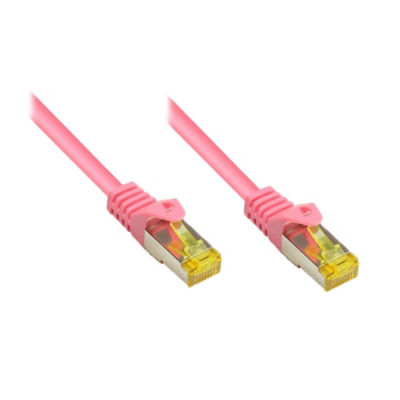 Good Connections  7,5m RNS Patchkabel mit Cat.7 Rohkabel S/FTP PiMF magenta | 4014619773992