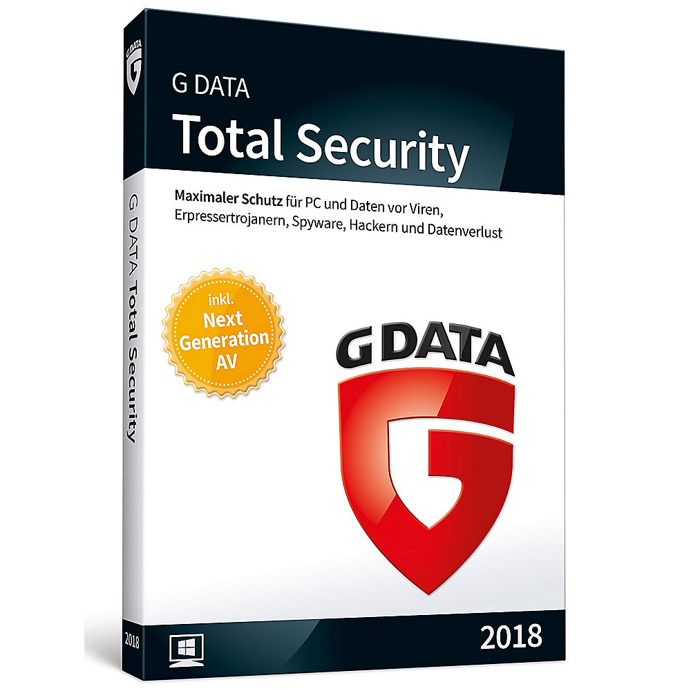 G DATA Total Security 2018 3 PC Minibox