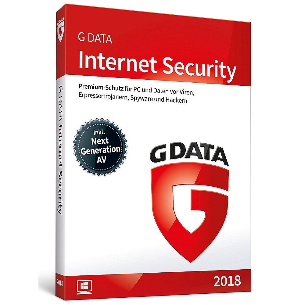 G DATA Internet Security 2018 1 PC Upgrade Minibox