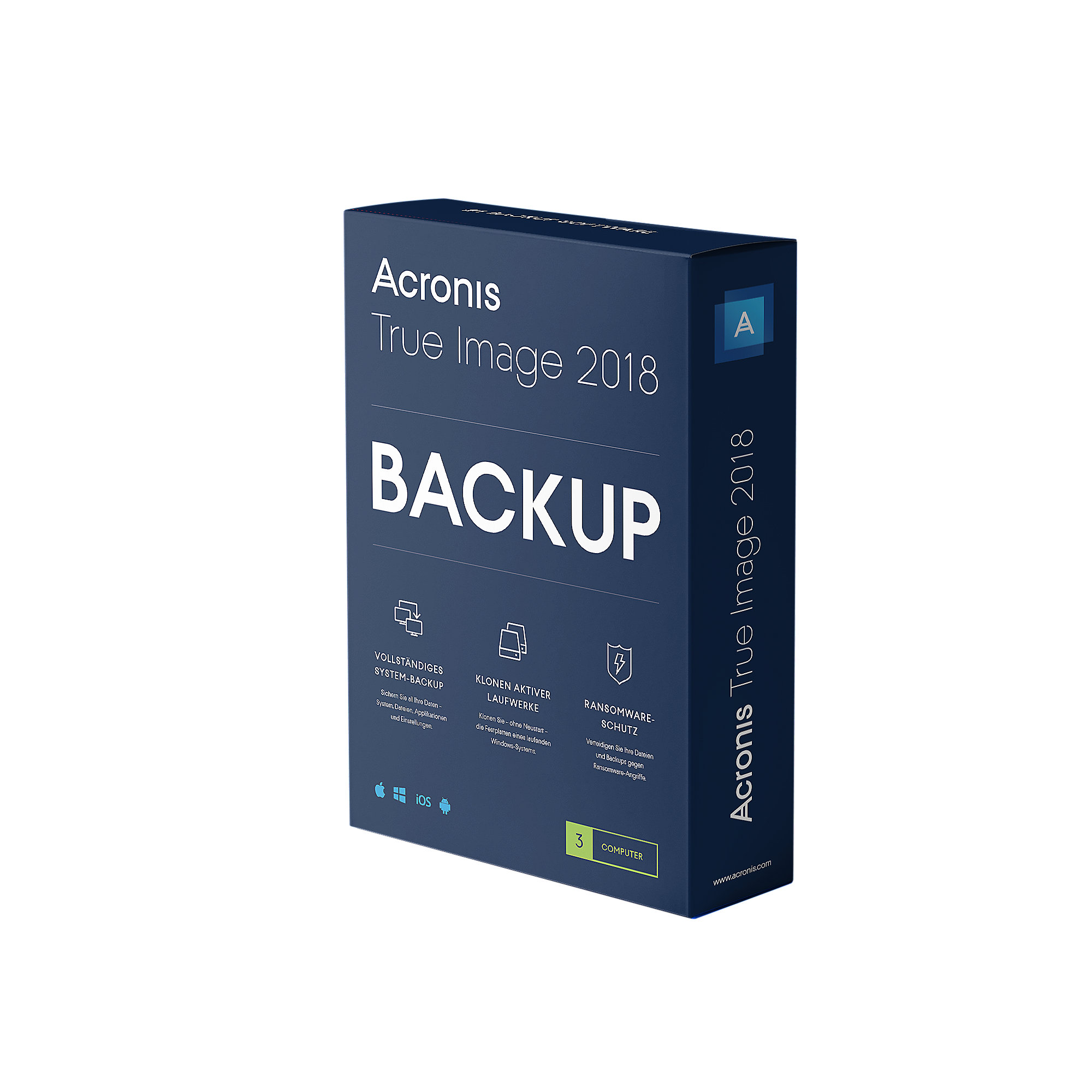 Acronis True Image 2018 3 PC MiniBox