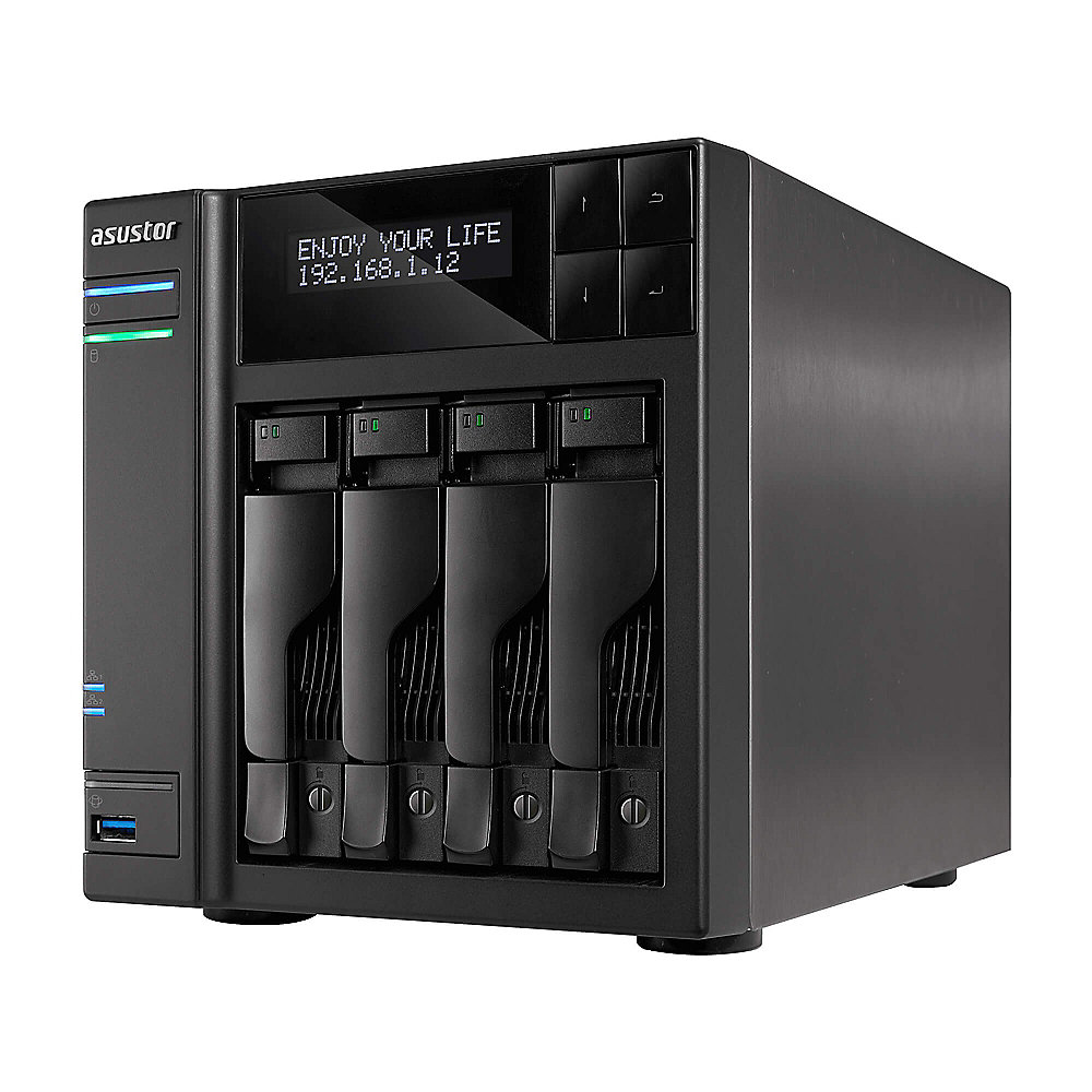 ASUSTOR AS6404T NAS System 4-bay