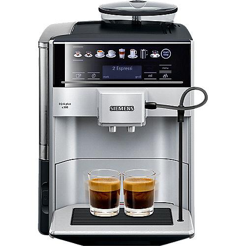 TE653501DE EQ.6 plus s300 Kaffeevollautomat Silber | 4242003803516