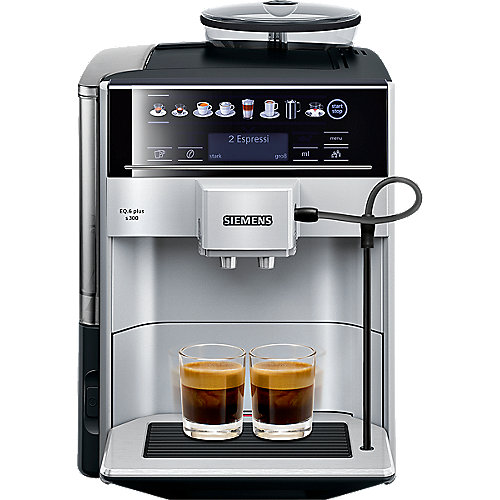 Siemens TE653501DE EQ.6 plus s300 Kaffeevollautomat Silber | 4242003803516
