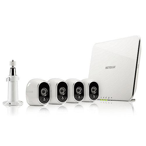 Netgear Arlo-Sicherheitssystem VMS3430 4x Kamera and Basisstation 720p Nachtsicht | 0606449107760