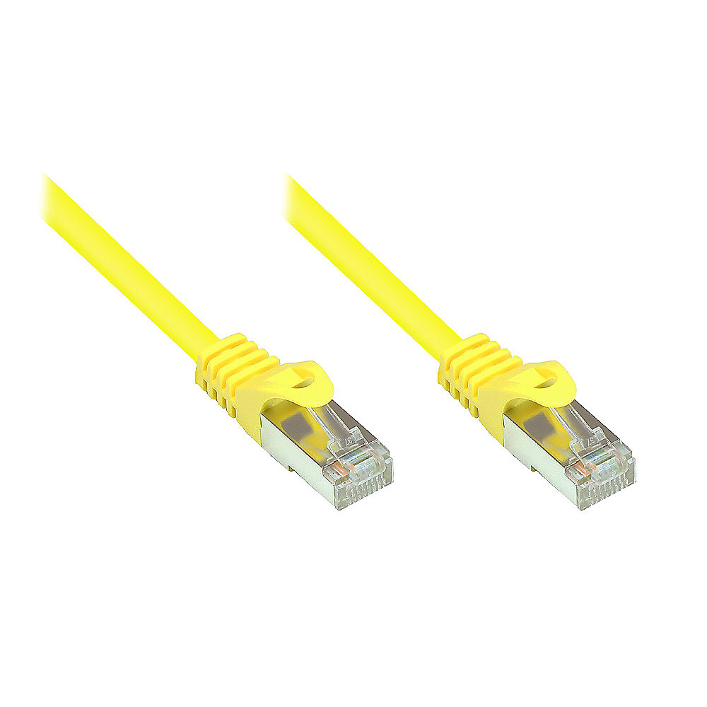Good Connections 0,15m RNS Patchkabel CAT5E SF/UTP PVC gelb