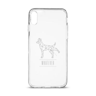 Artwizz  NoCase für iPhone X, transparent, P-Dog | 4260458886274