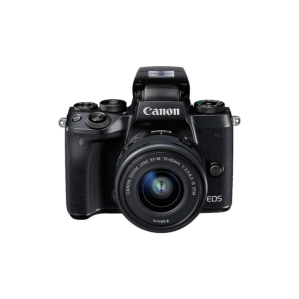 Canon EOS M5 Kit EF-M 15-45mm 1:3,5-6,3 IS STM Systemkamera *Cashback*