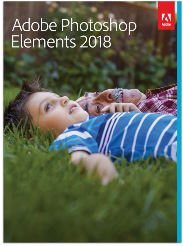 Adobe Photoshop Elements 2018 Upgrade Minibox FRA, français