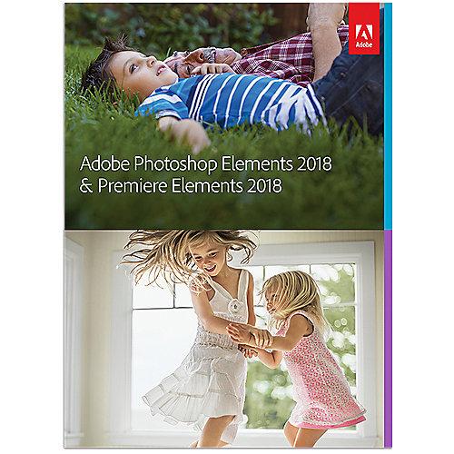 Photoshop Elements and Premiere Elements 2018 Minibox GER, deutsch | 5051254643630