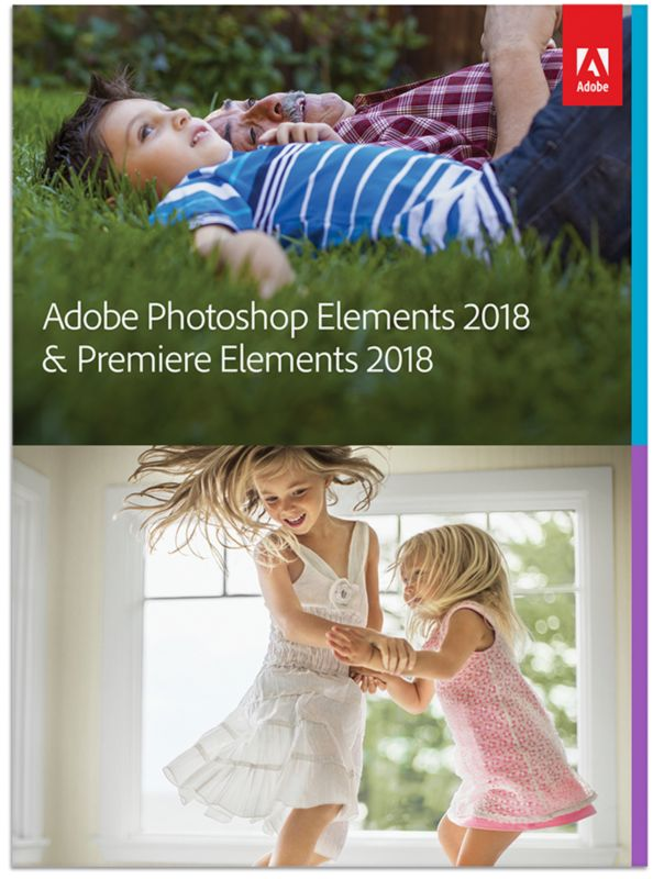 Adobe Photoshop Elements & Premiere Elements 2018 Minibox ITA, italiano