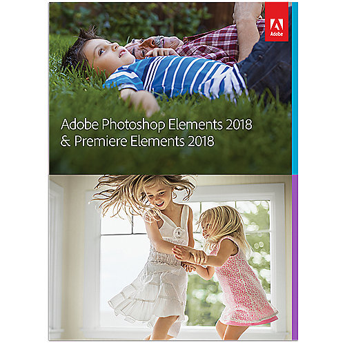 Adobe Photoshop Elements & Premiere Elements 2018 Upgrade Minibox FRA, français