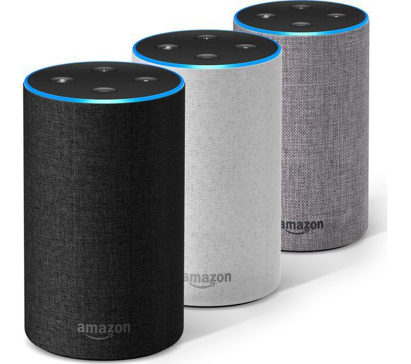 Das neue Amazon Echo (2. Generation) - Sandstein Stoff