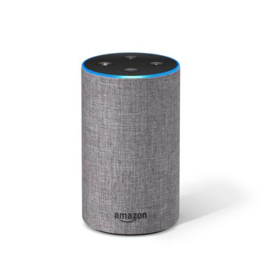 Amazon  Echo (2. Generation) – Hellgrau Stoff | 0841667187044