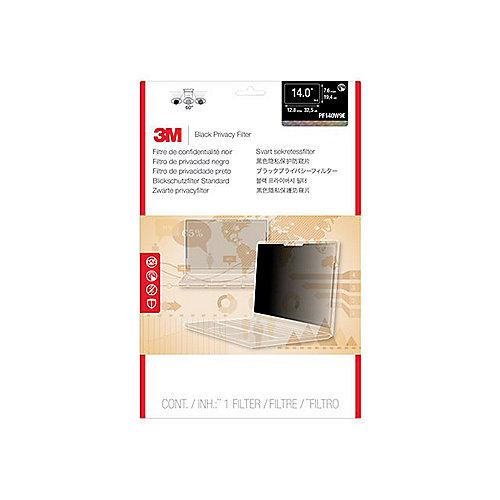 3M PF140W9E Blickschutzfilter Black für 14 Zoll (35,56cm) 7100068018 | 0051128004395