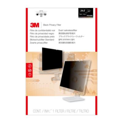 3M  PF240W9B Blickschutzfilter Black für 24 Zoll (61cm) 16:9 98044054355 | 0051128797181