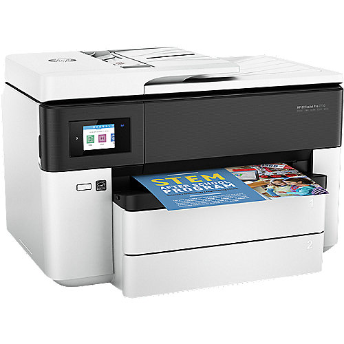HP OfficeJet Pro 7730 MFG Drucker Scanner Kopierer Fax WLAN A3 + 20 EUR Cashback