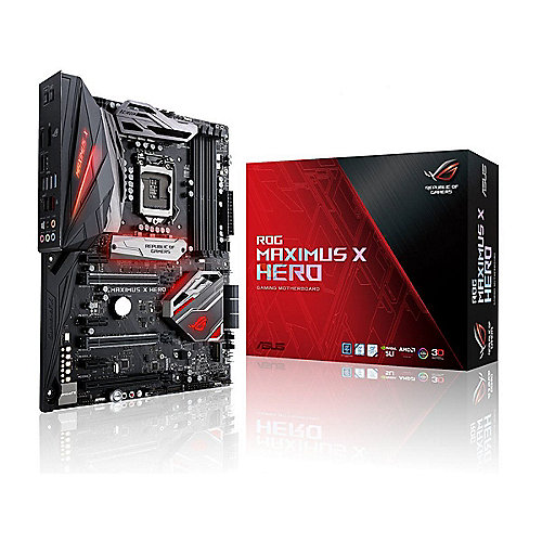 ASUS MAXIMUS X HERO Z370 ATX Mainboard 1151 DP/HDMI/M.2/USB3.1